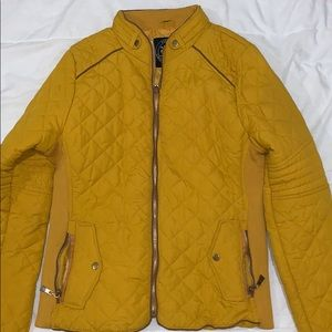 Mustard Padded Jacket!
